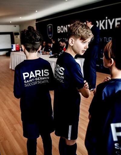 PSG'nin Türkiye futbol akademisi tanıtıldı