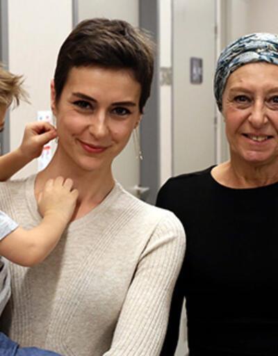 Anne kız kanseri beraber yendi