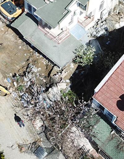 Silivri'de define faciası: 2 kişi göçük altında kaldı