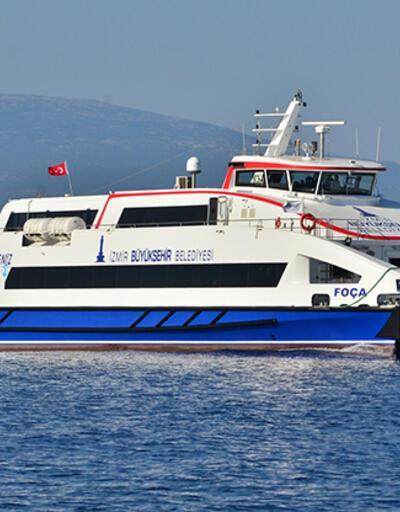 İzmir'de yolcu vapuru seferleri iptal edildi