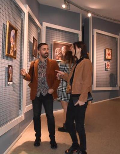Dünyaca ünlü tablolara Down sendromlu gençler hayat verdi