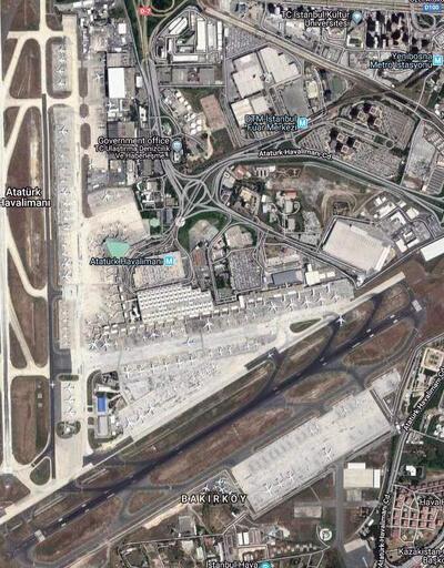 Atatürk Havalimanı'nda çalışmalar başladı