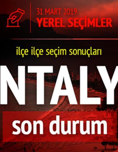 Son dakika: İşte Antalya oy oranları! Anlık seçim sonuçları