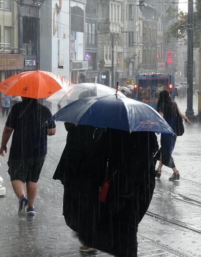 Son dakika: Meteoroloji'den kuvvetli sağanak yağış uyarısı
