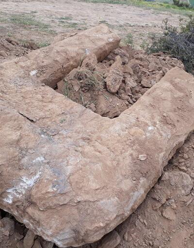 Define ararken Helenistik Dönem'e ait kalıntılar buldular