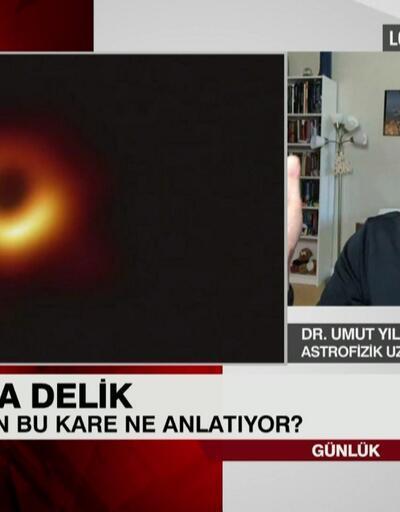 Tarihe geçen kara delik fotoğrafı ne anlatıyor? Dr. Umut Yıldız anlattı