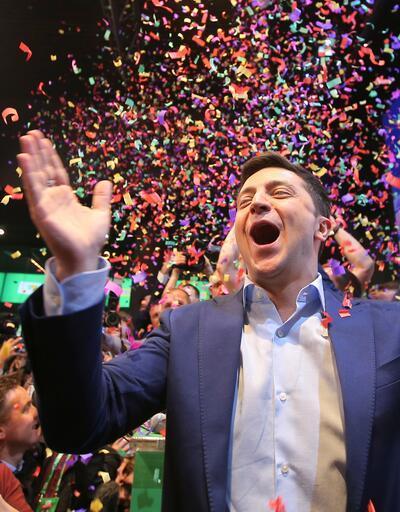 Ukrayna'da Zelenskiy seçimin resmen galibi