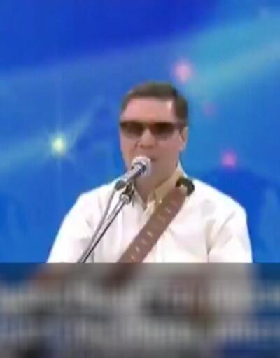 Türkmenistan lideri torunuyla rap yaptı