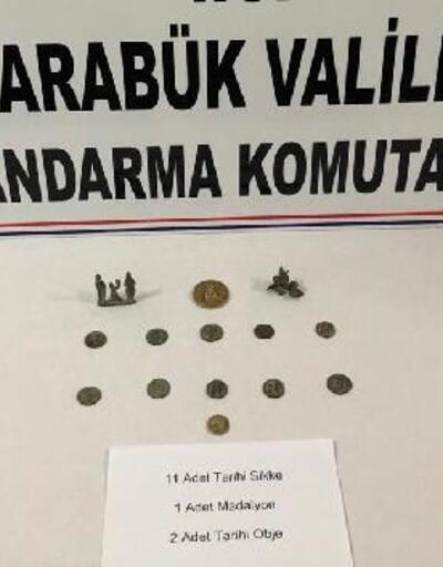 Safranbolu'da tarihi eser operasyonu: 3 gözaltı