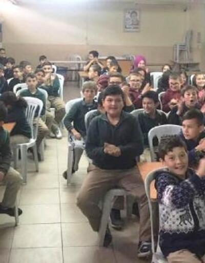Hisarcık'ta öğrencilere trafik eğitimi