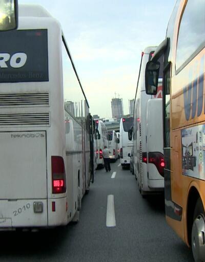 Otobüs biletlerinin %95'i tükendi