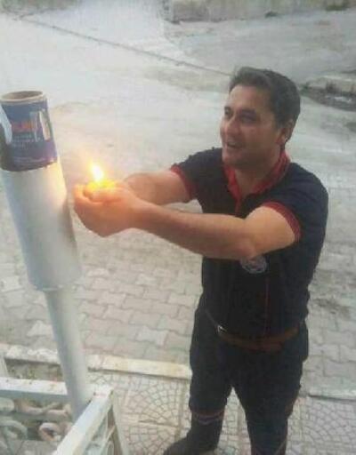Hisarcık'ta Ramazan topunun yerini ses bombası aldı