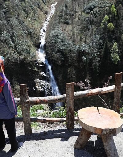 Bayramda Ayder Yaylası'na yoğun ilgi