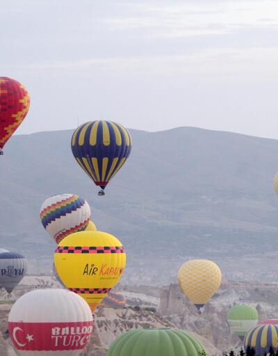 Bayramda sıcak hava balonu rezervasyonları doldu