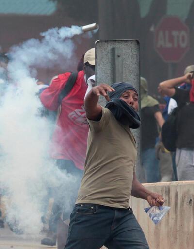 Honduras'ta hükümet karşıtı protestolar sürüyor