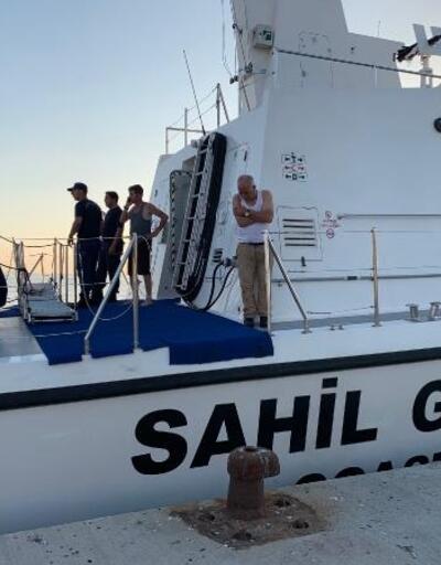 Maltepe açıklarında kayık battı, balıkçıları sahil güvenlik kurtardı