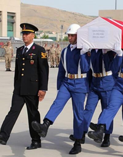 Elazığ'da şehit Uzman Onbaşı Eren Yücel için tören