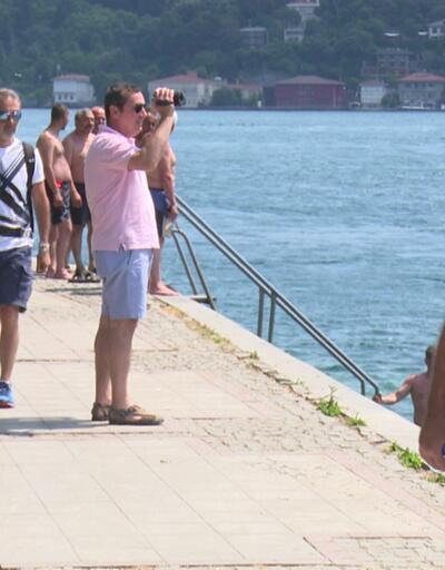 İstanbullular Boğaz'a akın etti