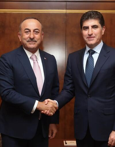 Dışişleri Bakanı Mevlüt Çavuşoğlu Erbil'de