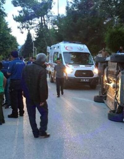 Bucak'ta kaza: 2 yaralı