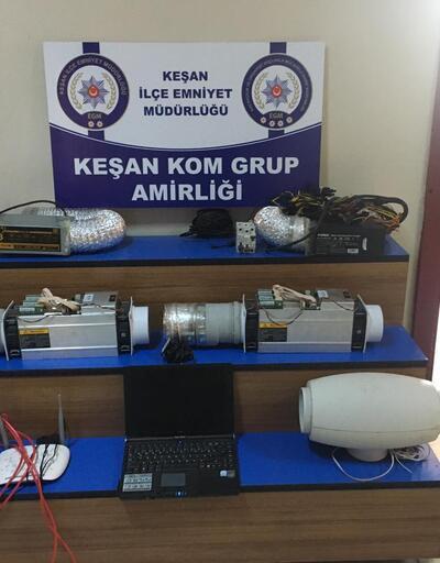 Kaçak elektrikle bitcoin madenciliğine operasyon