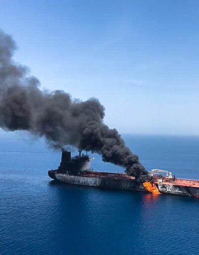 Son dakika... Umman Körfezi'nde iki tankerde patlama