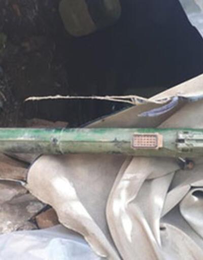 PKK sığınağında 'portatif füze' bulundu