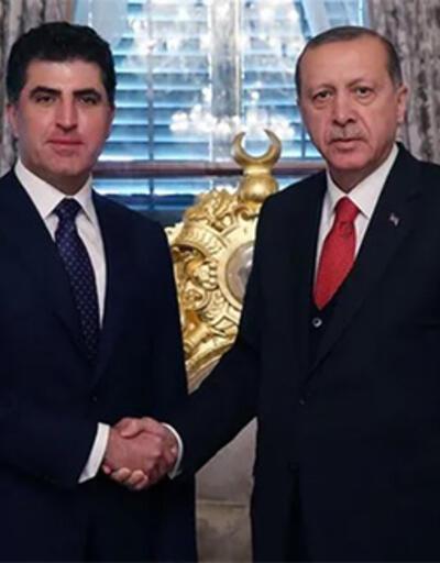 Neçirvan Barzani, Cumhurbaşkanı Erdoğan'la görüşmek için İstanbul'a geldi