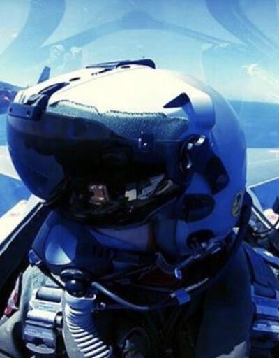 Türk F-16'ları 'Yavuz'u selamladı