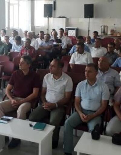 Bucak'ta eğitim değerlendirme toplantısı