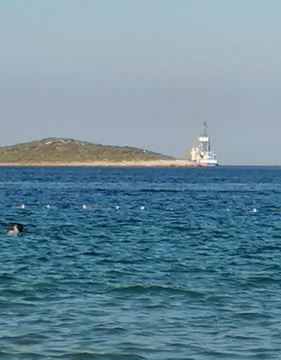 'Yavuz' sondaj gemisi, Mersin açıklarında