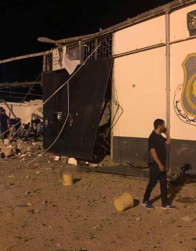 Hafter güçleri, düzensiz göçmenleri hedef aldı