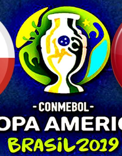 Şili Peru maçı ne zaman, saat kaçta, hangi kanalda?