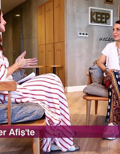 Şarkıcı Sertab Erener, 'Elektrik Akustik' projesinin detaylarını Nefise Karatay'a anlattı