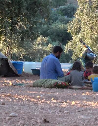 Yüzbinlerce sığınmacı çadır kentlerde
