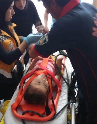 Asansör boşluğuna düşen 5 yaşındaki çocuğu, itfaiye kurtardı