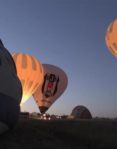 Kapadokya'da balon bereketi