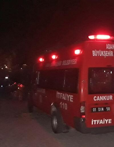 Adana'da 10 kişi kayalıklarda mahsur kaldı