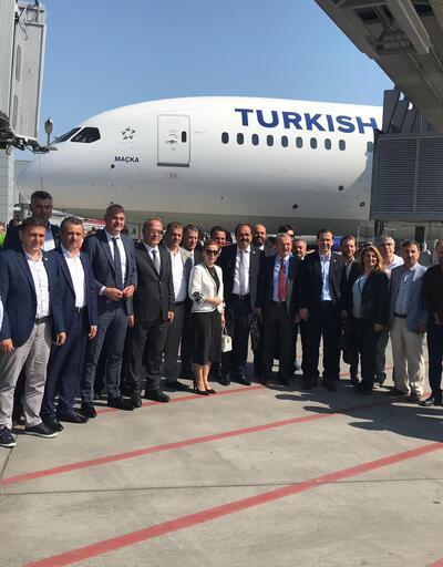 THY'nin 'Maçka' uçağı Şehit Eren Bülbül anısına Trabzon'a uçtu