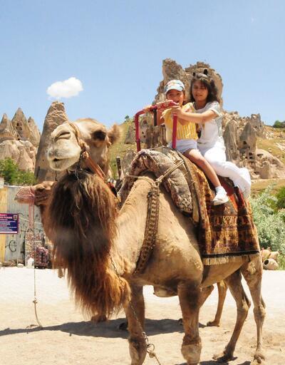 Haziran'da Kapadokya'ya rekor ziyaretçi
