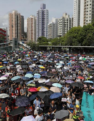 Çin temsilcisinden Hong Kong yönetimine destek açıklaması