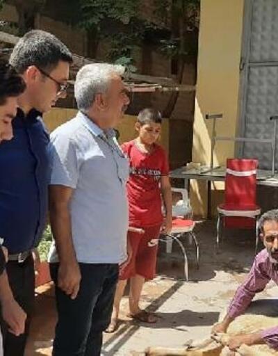 Suriye gazisine davullu zurnalı karşılama