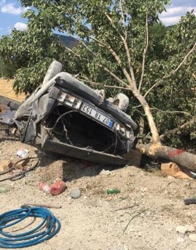 Burdur'da kaza: 5 yaralı
