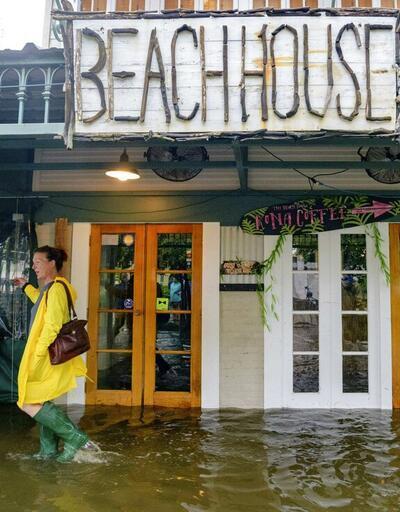 ABD'de Barry Kasırgası: On binlerce kişi elektriksiz kaldı!