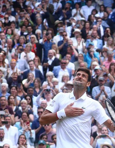 Wimbledon'da şampiyon Djokovic