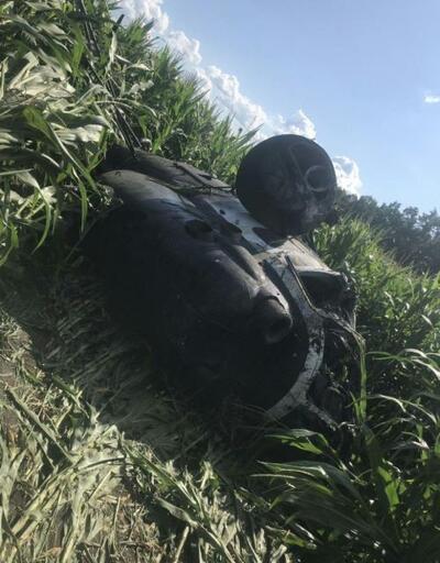 Ukrayna'da Rus yapımı helikopter düştü