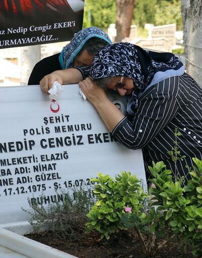 15 Temmuz şehit ailelerinin ağıtları yürekleri dağladı