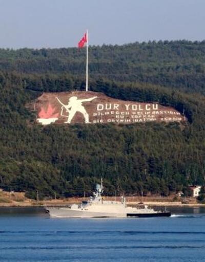 Rus savaş ve askeri kurtarma gemileri Akdeniz'e iniyor