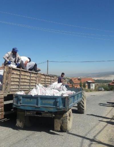 Hisarcık'ta 713 ton kömür dağıtıldı