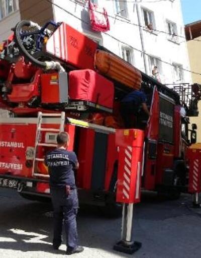 Beyoğlu'nda bebek kurtarma operasyonu